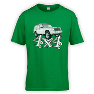 4x4 XJ Kids T-Shirt