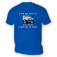 Bad Day With My JK Beats Work Mens T-Shirt