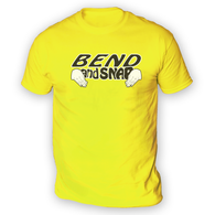 Bend and Snap Mens T-Shirt