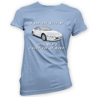 Bad Day With My MR2 W20 Beats Work Womans T-Shirt