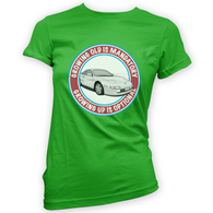 Grow Up Optional MR2 W20 Womans T-Shirt