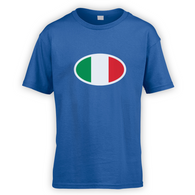 Italian Flag Kids T-Shirt