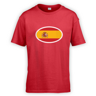 Spanish Flag Kids T-Shirt