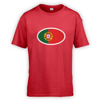 Portuguese Flag Kids T-Shirt
