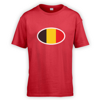 Belgian Flag Kids T-Shirt