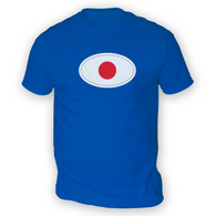 Japanese Flag Mens T-Shirt