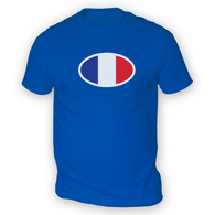 French Flag Mens T-Shirt