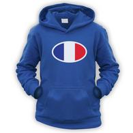 French Flag Kids Hoodie