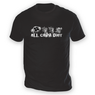 All Carb Diet Mens T-Shirt
