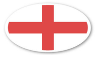 St George Flag Sticker