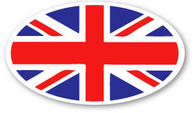 Union Jack Flag Sticker