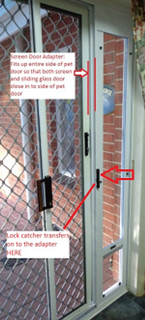 Screen Door Adapter Accessory