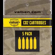 Valken 12 gram Paintball CO2 Cartridges - 5 pack