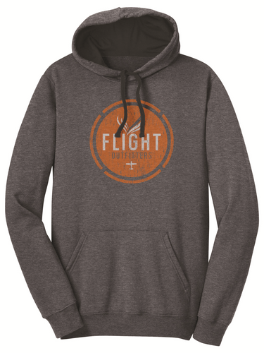 Flight Outfitters Retro Logo Hoodie - SkySupplyUSA