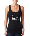 Just Shoot It Burnout Racerback Tank Top for Sale By Southern Sisters Designs