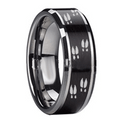 The best price you will find on titanium or tungsten deer tracks on animal track rings for men and women