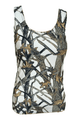 White Huntress Camouflage Tank Top