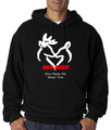 His Buck and Her Doe Hoodie - Black - She Made Me Wear This
