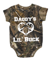 Daddy's Lil Buck Baby Clothing