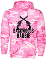 Back Woods Barbie Hoodie With Graphic On Back