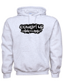 Cowgirl Up Solid Color Hoodies With Barbwire Logo