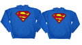 Superman Couples hoodie set