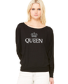 Queen Loose Fit Bella T Long Sleeve