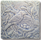 6x6 Nesting Blue Jay Tile by Whistling Frog Tile