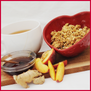 MICHAELENE'S Ginger-Peach Honey Crunch™ (nut free)