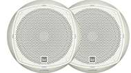 "2 New Dual DMP67 6.5"" Inch Marine Boath Yacht Speaker - White Color - 1 Pair"