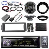 98-2013 Install FLHTC Adapter Kit, Bluetooth CD Radio, Amplifier Set, Kicker Set