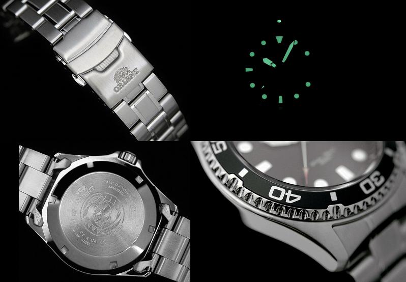 Đặc điểm nổi bật của Đồng hồ Orient Black Ray II FA002004B9