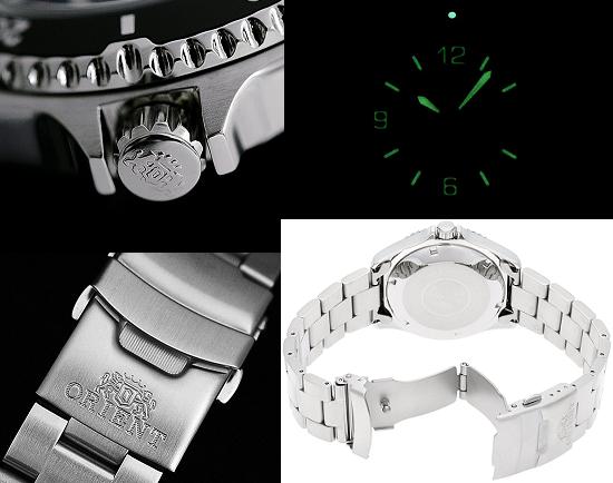 Một số đặc điểm nổi bật của đồng hồ Orient Black Mako 2