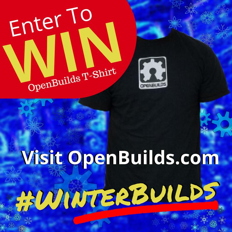 OpenBuilds #WinterBuilds Contest