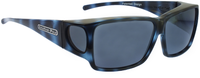 Jonathan Paul® Fitovers Eyewear Large Orion in Blue-Demi & Gray ON002