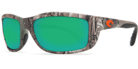 Costa Del Mar™ Polarized 580P Sunglasses: Zane in Realtree Xtra Camo & Green Mirror Lens