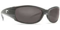 Costa Del Mar™ Polarized 580G Sunglasses: Hammerhead in Silver & Silver Mirror Lens