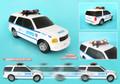 NYPD Motorized SUV