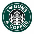 Vest Patch Gun and Coffee
