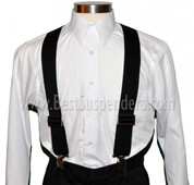 Work Suspenders Black