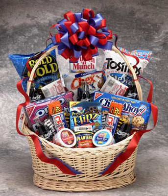 The Works! Snack Gift Basket