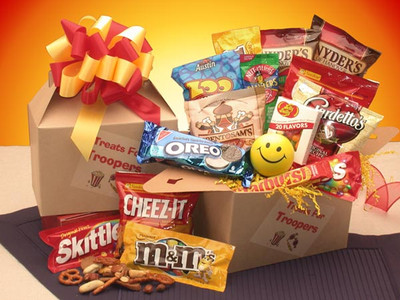 Snacks For Troops Care Package