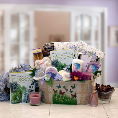 Me Time Spa Gift Basket For Women