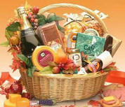 Thanksgiving Gourmet Snack Foods Basket