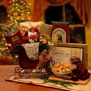 Seasons Greetings Holiday Sleigh - Medium