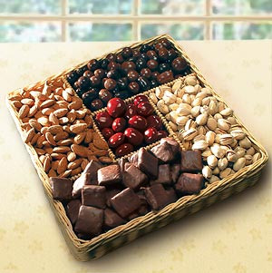 Candy and Nut Party Tray