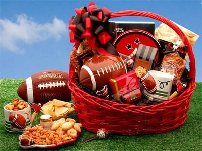 Football Gift Basket
