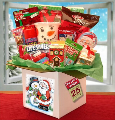 Kids Christmas Care Package Gift