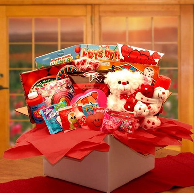 Little Sweetheart Valentine Treats Kids Gift