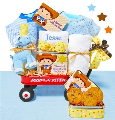 Western Play Baby Wagon Gift Boy